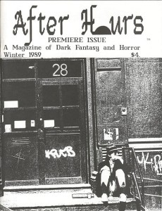 After Hours Winter 1989 cover