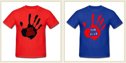 T-shirts for THE FIVE