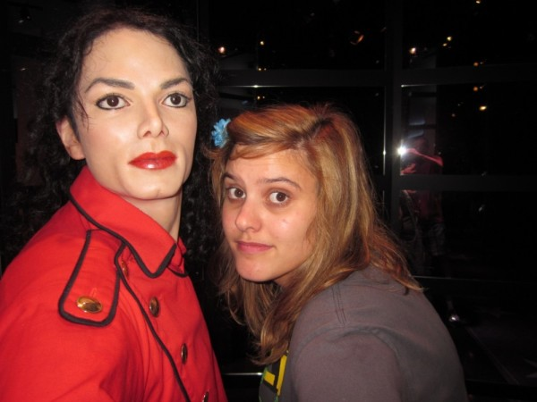 Skye and Michael Jackson
