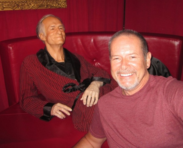 Hugh Hefner and Robert McCammon