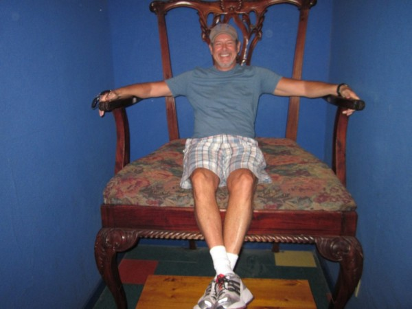 Robert McCammon big chair