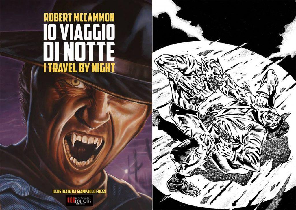 Io Viaggio di Notte - Giampaolo Frizzi sample art